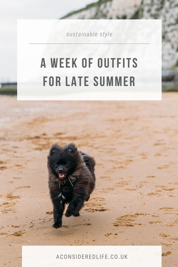 A Week Of Sustainable Outfits: Late Summer