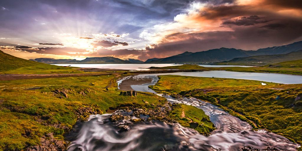 Kirkjufellsá river (Iceland)