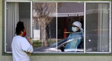 Home quarantine with Health Ministry's approval
