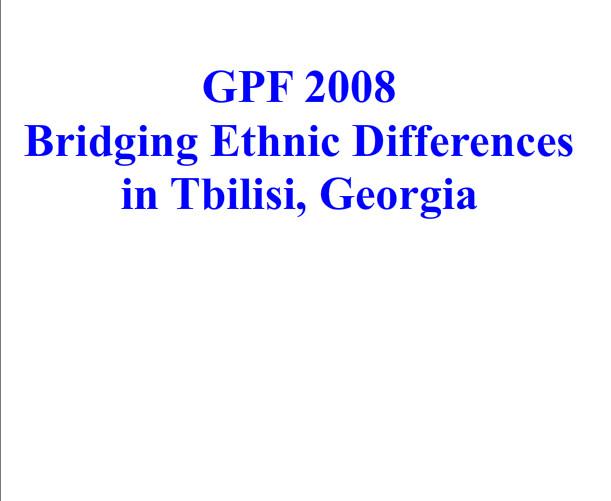 Georgia-2008-12-07-Festival Bridges Differences among Neighboring Peoples in the Caucasus