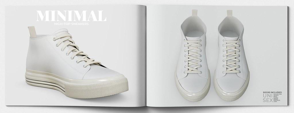MINIMAL – High-Top Sneakers