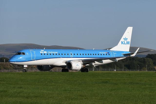 PH-EZM Embraer 190 EGPH 01-09-21