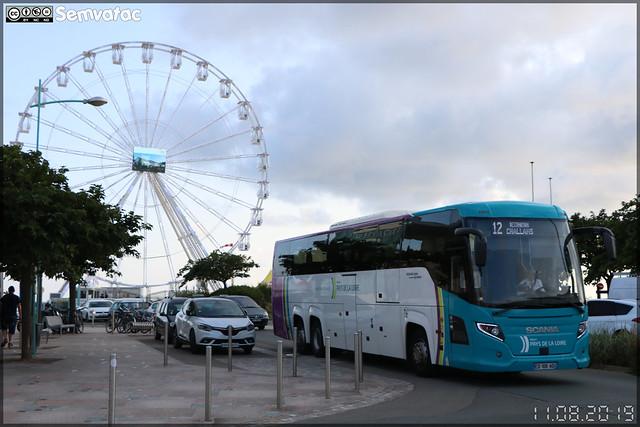 Scania Touring – Transdev CTA (Compagnie des Transports de l'Atlantique) (STAO PL, Société des Transports par Autocars de l'Ouest – Pays de la Loire) / Aléop ex Pays de la Loire n°25604