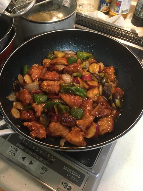酢豚を作る!
