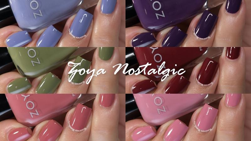 Zoya Nostalgic Collection