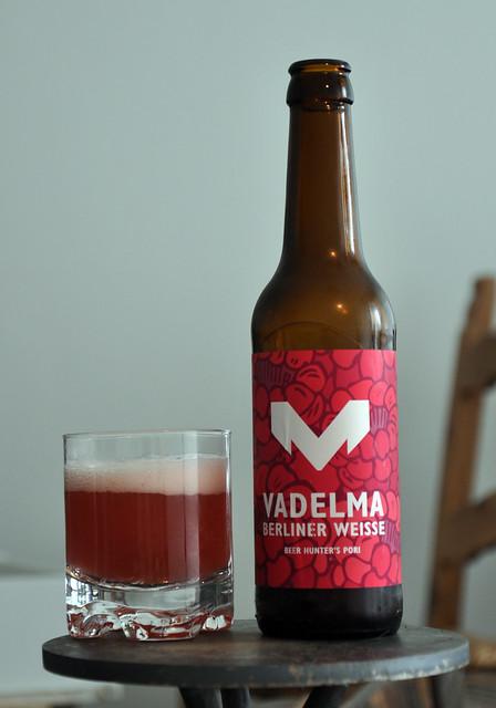 Vadelma Berliner Weisse by Beer Hunter's [sic] Pori