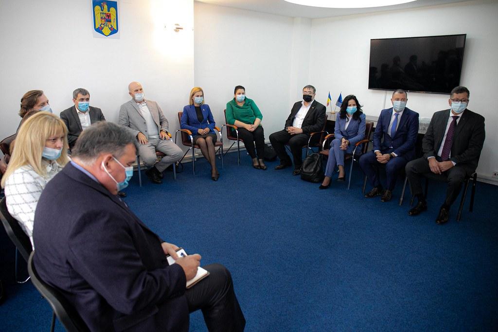 02.09.2021 Întrevederea lui Igor Grosu  cu Adrian Dupu, Secretar de stat al Departamentului pentru Relația cu Republica Moldova al Guvernului României