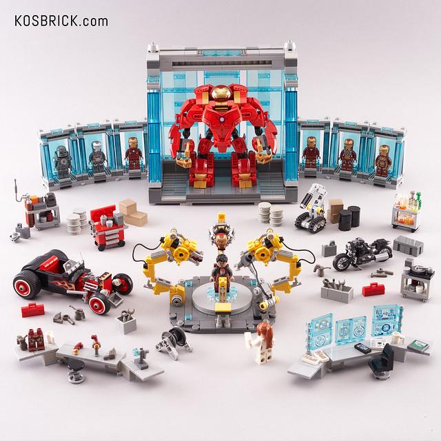 Lego Iron Man Hall of Armor