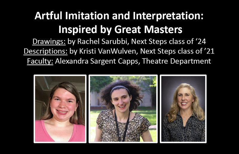 Artful Imitation and Interpretation: Inspired by Great Masters