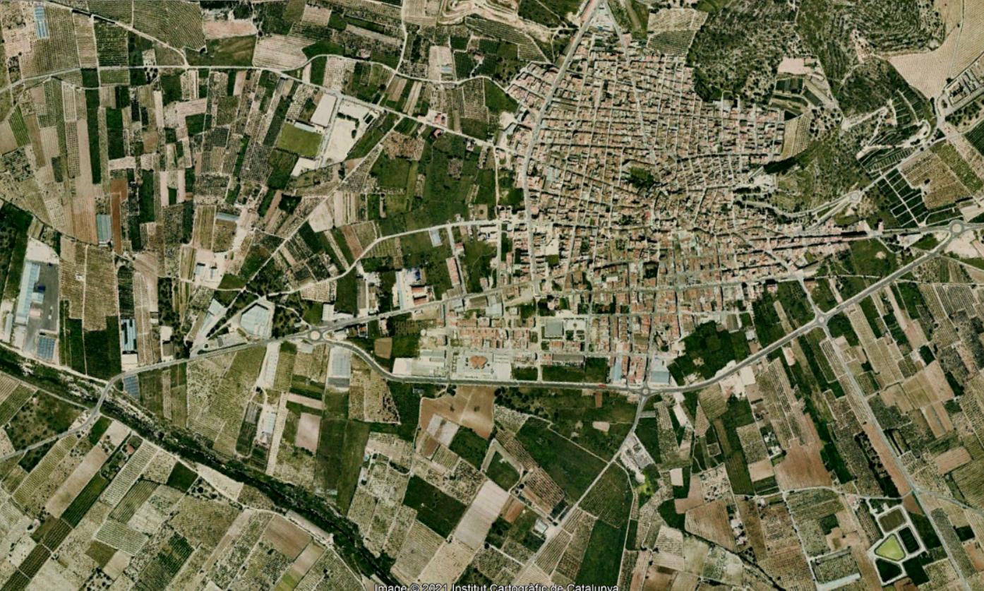 alcanar, tarragona, donde la riada pero no tanto, antes, urbanismo, planeamiento, urbano, desastre, urbanístico, construcción