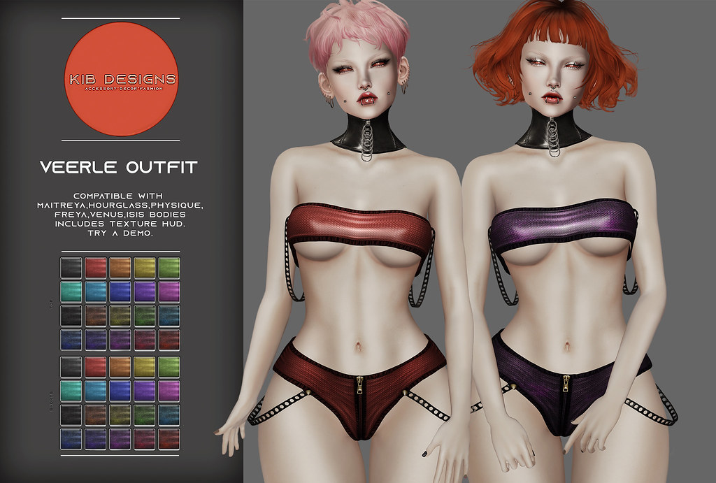 KiB Designs – Veerle Outfit @Darkness Event 5th Sept.