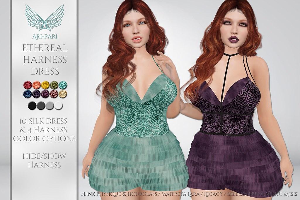 [Ari-Pari] Ethereal Harness Dress