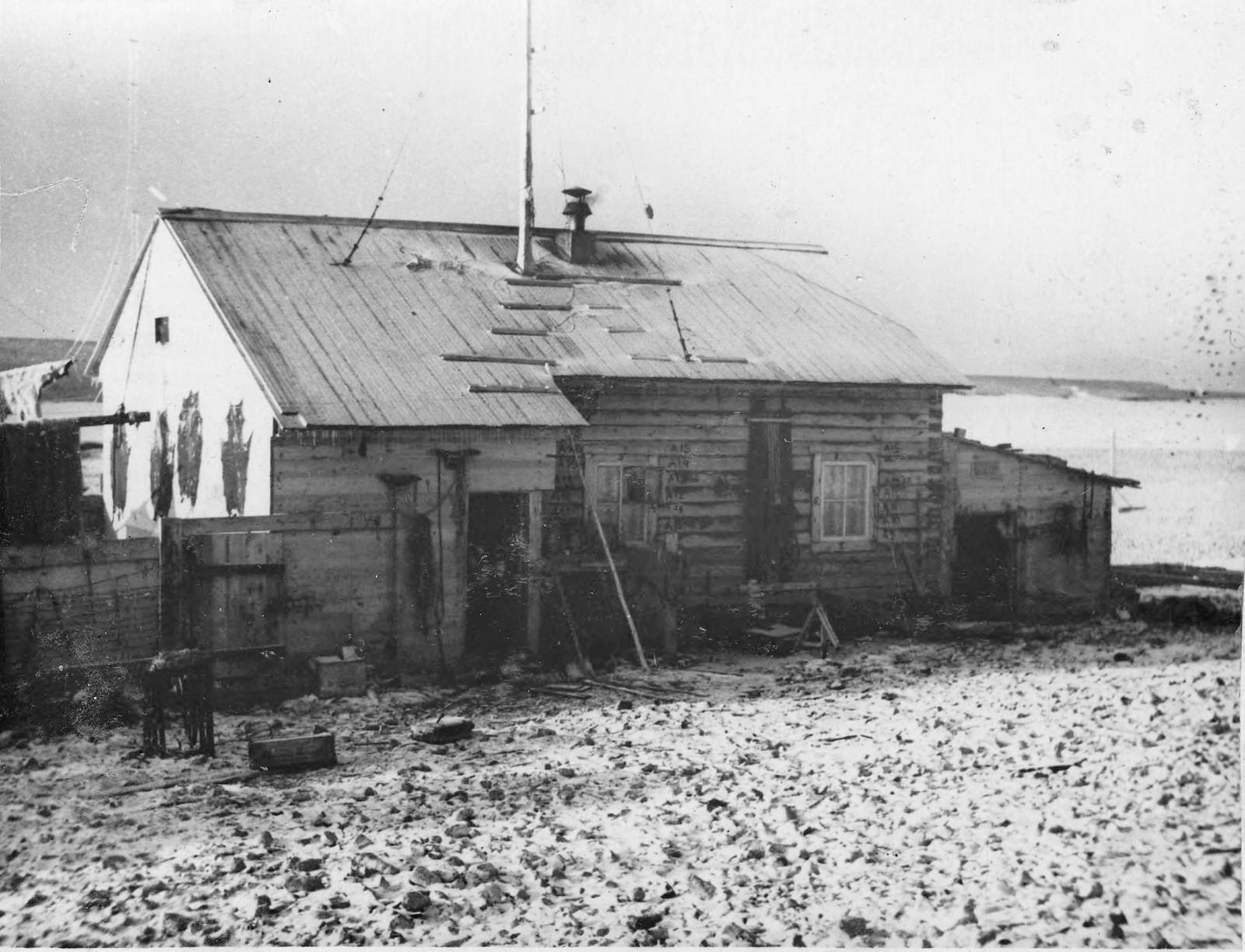 03. Дом-база экспедиции на острове Домашнем