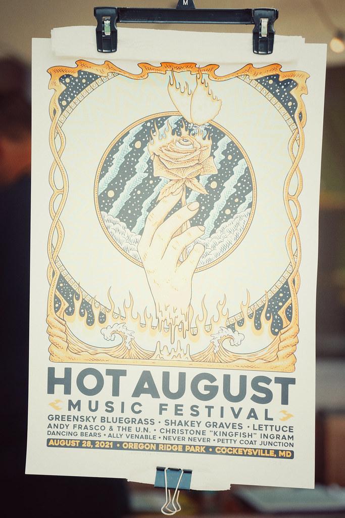 Hot August Music Festival - Oregon Ridge Park Cockeysville MD - 08.28.21 CVock 61