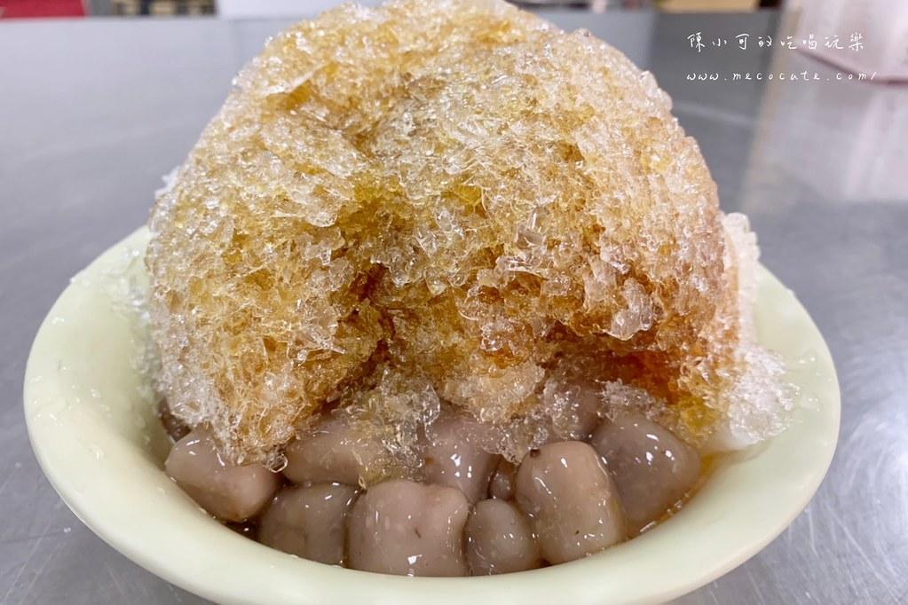 營業時間超過十小時的冰店,早餐就能吃到?手工自製米苔目是招牌,三重趙平米苔目
