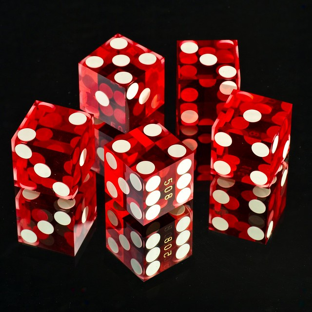 """Dice…""""Many identical objects"""" theme"""