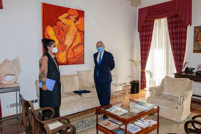 21.09. Secretário Executivo recebe representante da EPLO