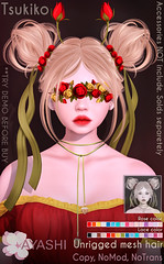 [^.^Ayashi^.^] Tsukiko hair&accessories special for FaMESHed