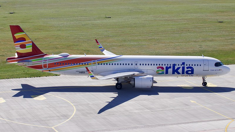 4X-AGK Arkia Israeli Airlines Airbus A321-251NX