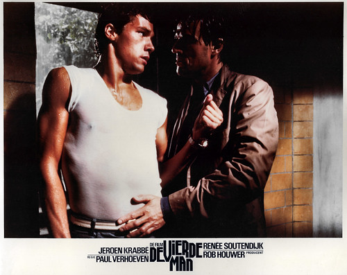 Jeroen Krabbé and Thom Hoffman in De vierde man (1983)