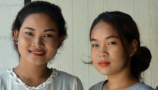 pretty young women