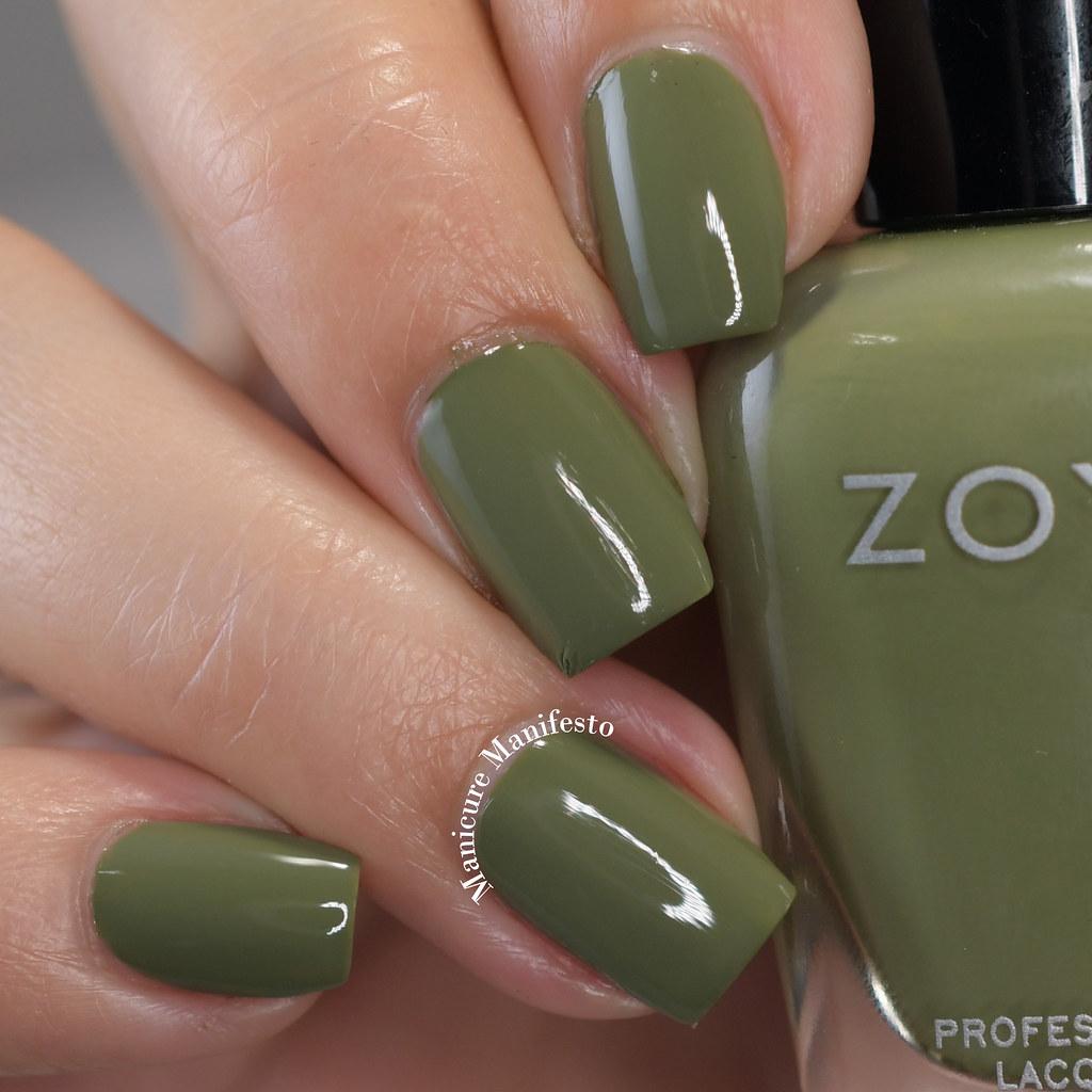 Zoya Cooper swatch