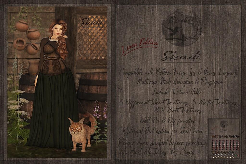 Dress Skadi  ~ Linen Edition ~