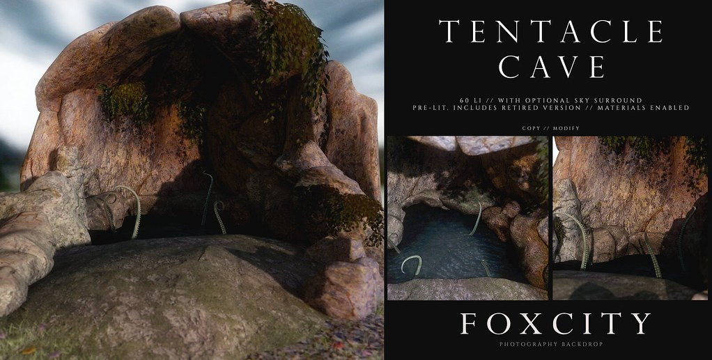 FOXCITY. Photo Booth – Tentacle Cave