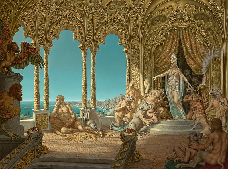 Johfra Bosschart - The Bummer - Odysseus at Kirke