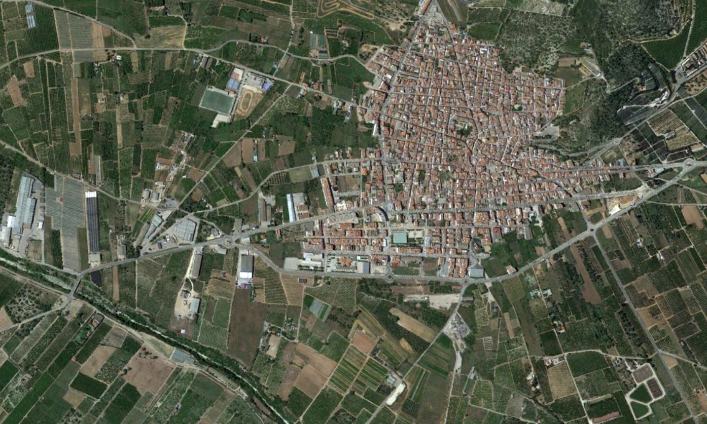 alcanar, tarragona, donde la riada pero no tanto, después, urbanismo, planeamiento, urbano, desastre, urbanístico, construcción, rotondas, carretera