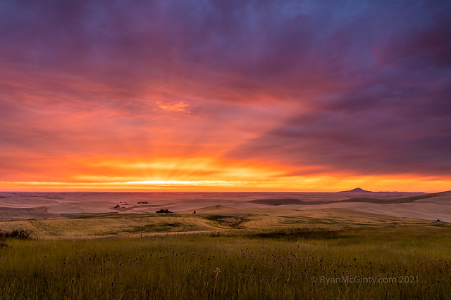 Crown of Light over the Palouse