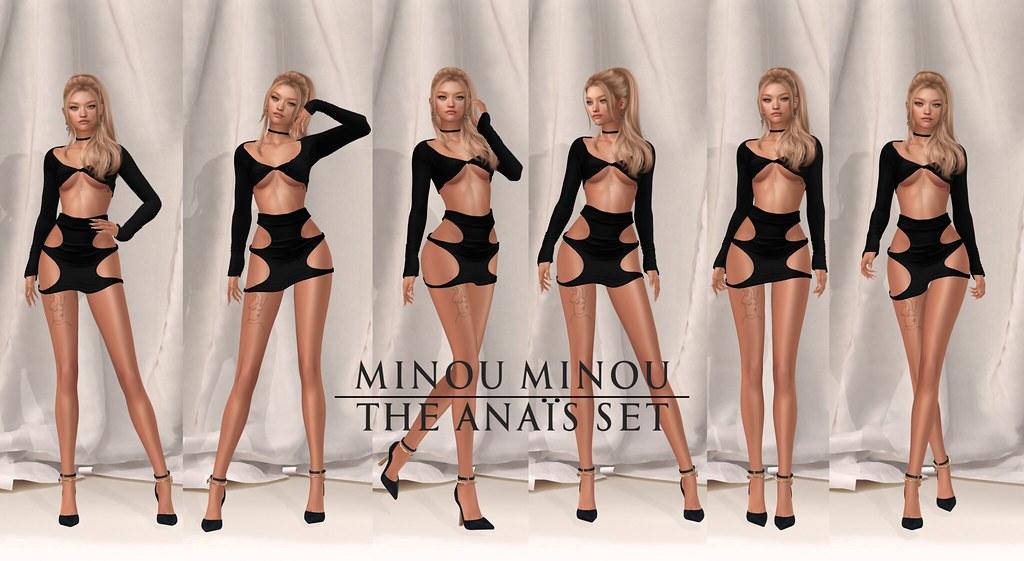 .minou minou. the Anaïs set