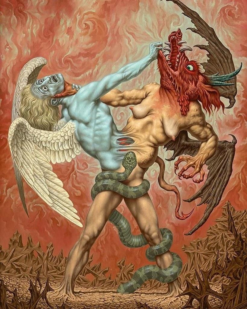 Johfra Bosschart - The Battle Between Good and Evil