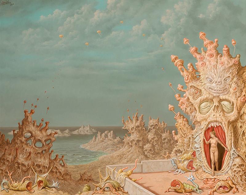 Johfra Bosschart - Landscape with Skulls.
