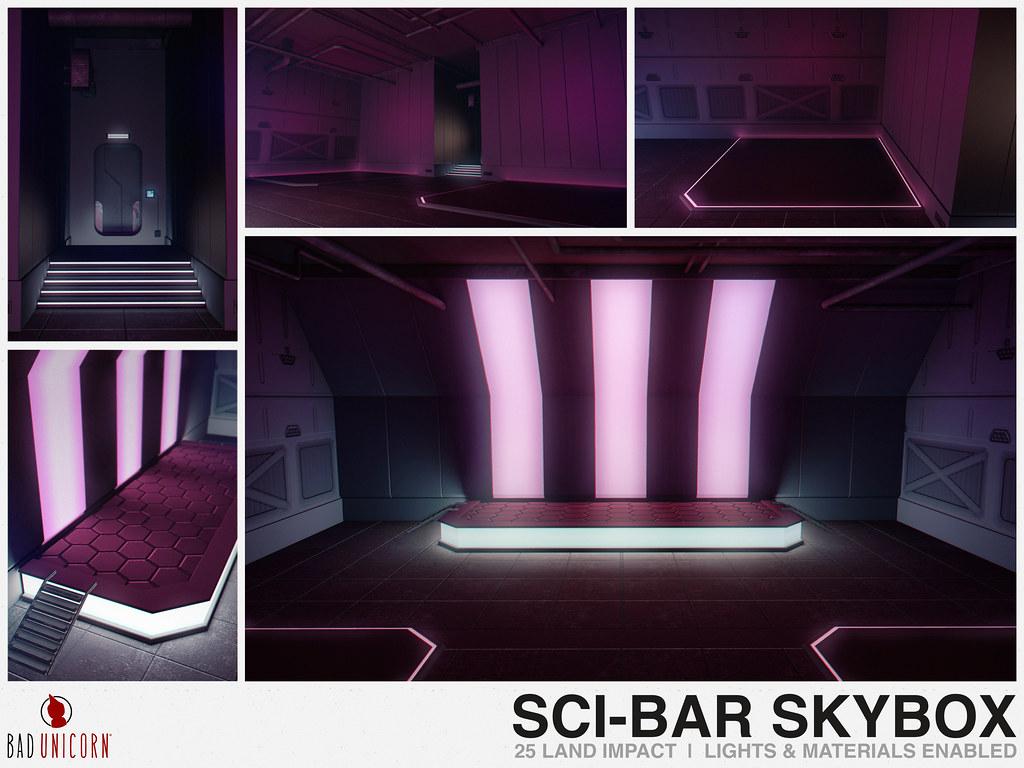 NEW! Sci-Bar Skybox @ Cyber Fair