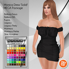 [D2T Designs] Monica Dress #MegaPack ADD