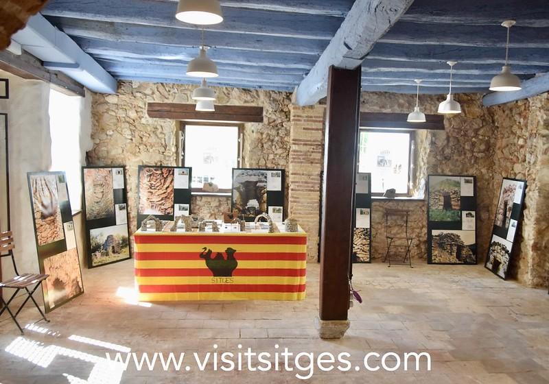 Exposició Tota pedra fa paret. La pedra seca a Catalunya – La Pregonera Sitges 2021
