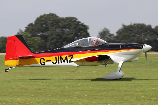 G-JIMZ  -  Vans RV-4 c/n 2488  -  EGBK 3/9/21