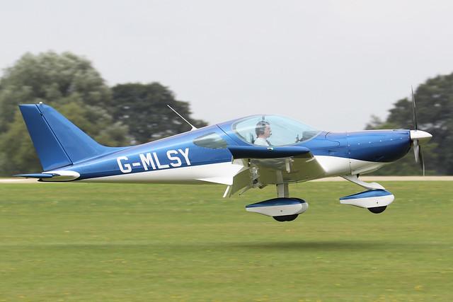 G-MLSY  -  BRM Bristell NG5 Speed Wing c/n LAA 385-15584  -  EGBK 3/9/21
