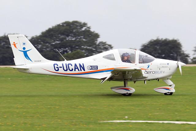 G-UCAN  -  Tecnam P2002 Sierra JF c/n 229 -  EGBK 3/9/21