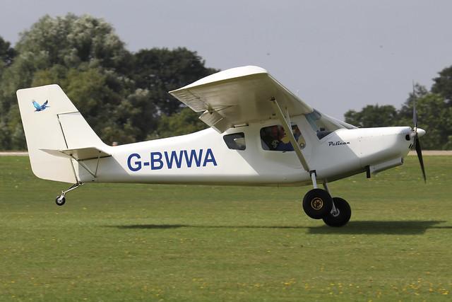 G-BWWA  -  Ultravia Pelican Club GS c/n PFA 165-12242  -  EGBK 3/9/21