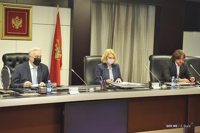 Sjednica Vijeća za nacionalnu bezbjednost (03.09.2021.)
