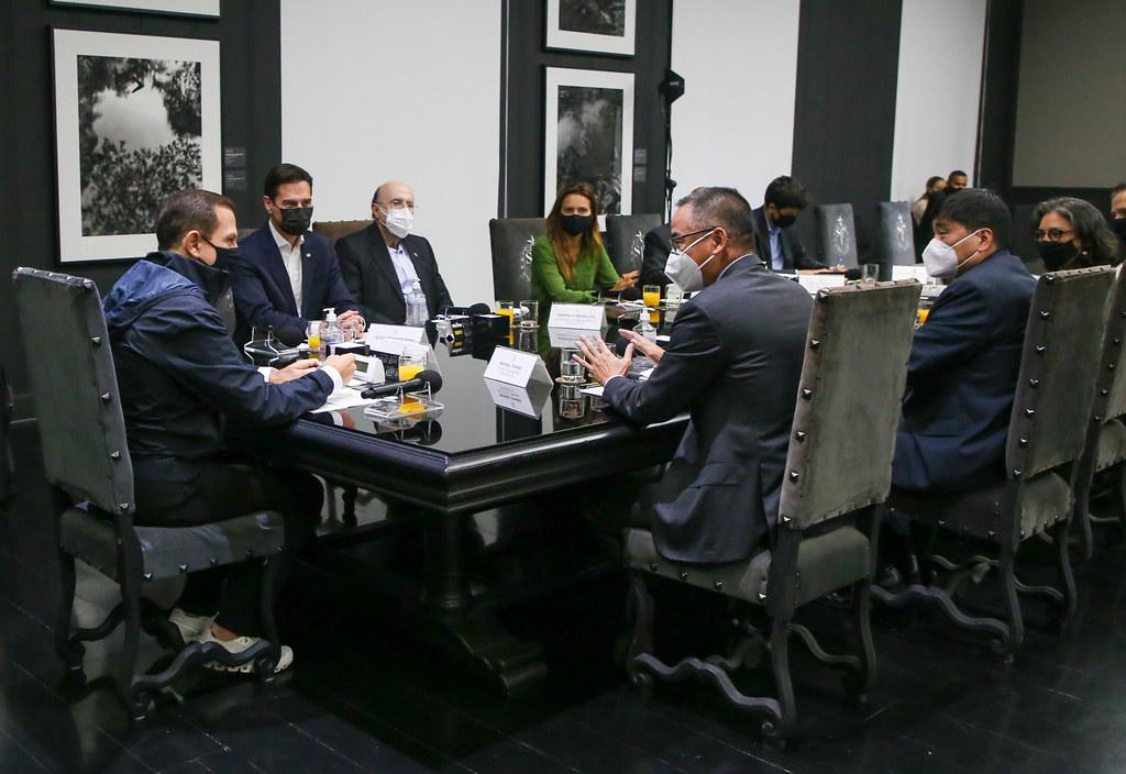 Reunião com o Presidente da Toyota Brasil, Rafael Chang