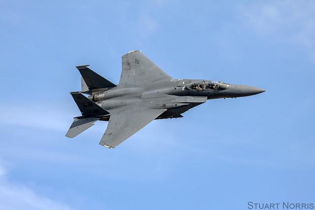 Strike Eagle Demo - Duxford - September 2011