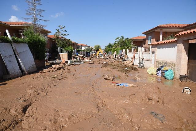 Visita a Cobisa tras la DANA y los trabajos del Plan INFOCAM
