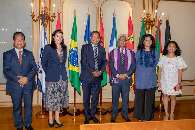 21.09. Secretário Executivo recebe Secretário-Geral do g7+