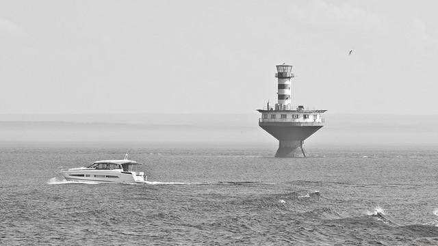 Phare, lighthouse, Haut-fond Prince, Tadoussac, PQ, Canada - 07351