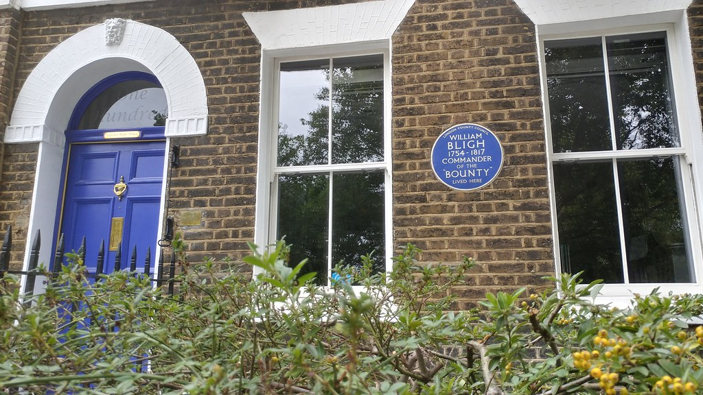 Home of Captain William Bligh