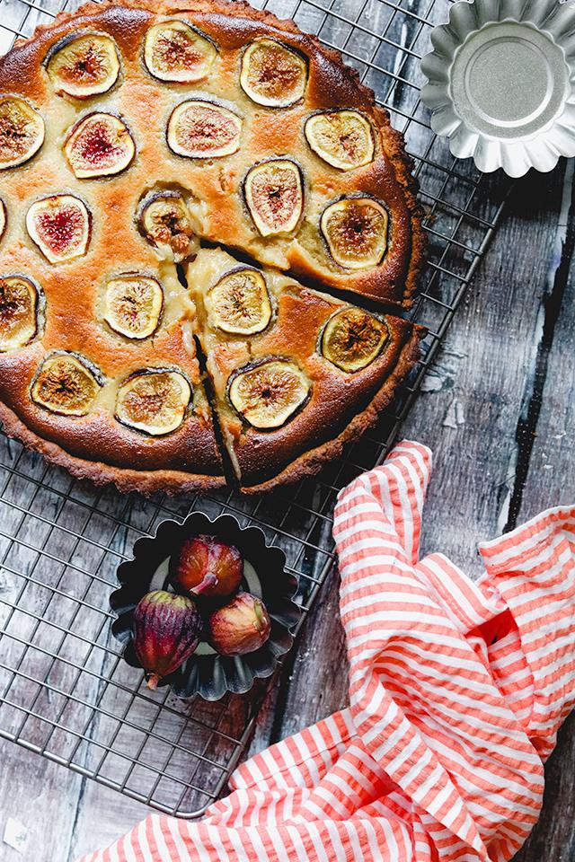 Honey-Almond Fig Tart