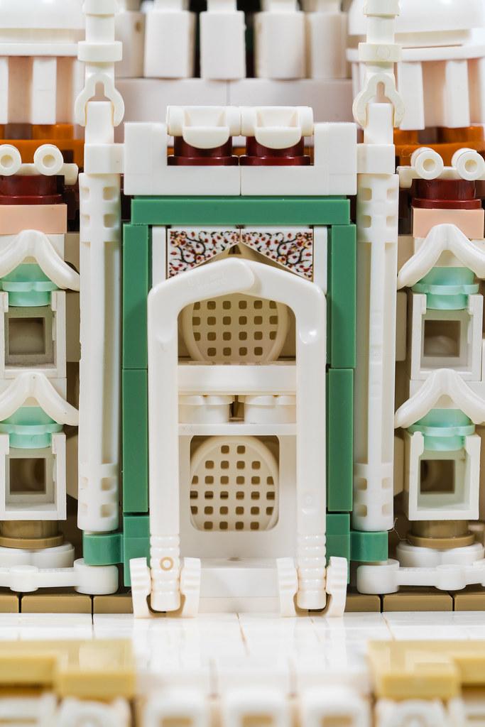 LEGO Taj Mahal Islamic Architecture